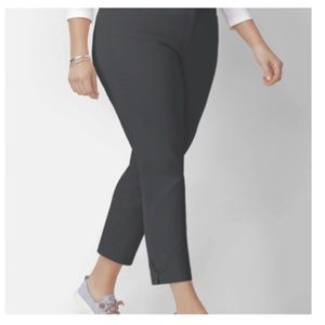 Talbots Charcoal Ankle Pants